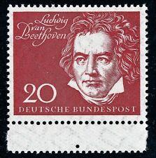317 postfrisch aus Block 2 Beethoven  Bund  1959