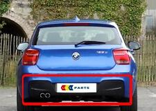 BMW NEW GENUINE  F20 F21 10-14 M SPORT BUMPER DIFFUSER WITH DOUBLE MUFFLER HOLE