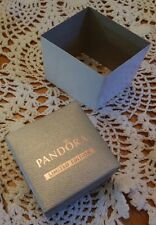 "AUTHENTIC PANDORA JEWELRY ""LTD EDITION"" SILVER CHARM/BEAD GIFT BOX ONLY W/SLEEVE"
