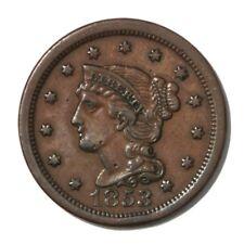 USA Large Cent 1c 1853  VF