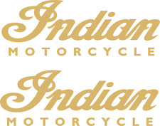 2 x Indian-Motorcycle  Aufkleber 120 mm x 42 mm -viele Farben