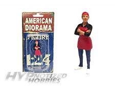 AMERICAN DIORAMA 1:24 FOOD TRUCK CHEF GLORIA MIJO EXCLUSIVES AD-38442