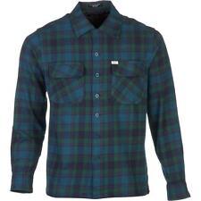 MATIX Lowride Flannel Shirt (L) Blue