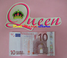 ADESIVO STICKER QUEEN 16X8 CM FREDDIE MERCURY no cd dvd lp mc vhs promo live(**)
