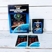 Intellivision The Dreadnaught Factor by Activision 1983 Video Game