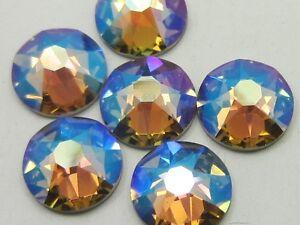 12ss BLACK DIAMOND SHIMMER Swarovski  rhinestones 1gr