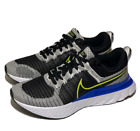 Nike React Infinity Run Flyknit 2 Mens Running Shoes 9 White Blue CT2357-100