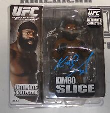 Kimbo Slice Signed UFC Round 5 Action Figure PSA/DNA COA Bellator MMA Autograph