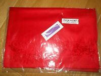 100% CASHMERE Pashmina/Scarf/Wrap. Red. BNWT. Ideal Gift.
