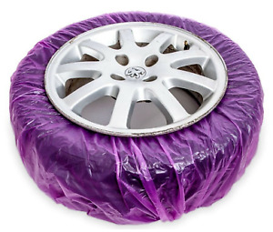 ALLOY WHEEL MASKING SYSTEM WHEEL FILM 4 x PAINT ABSORBENT COVERS J TAPE