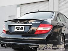 Unpainted 08-13 AMG Trunk Spoiler & OE Roof Wing M-Benz W204 C250 C300 C350 4Dr