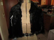 Antique Rabbit or Sheared Beaver Fur Wrap / Cape 1920s