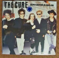 "THE CURE ""DISINTEGRATION IN COKELAND"" DOUBLE COLOURED LP OAKLAND 1989 SOUNDBOARD"