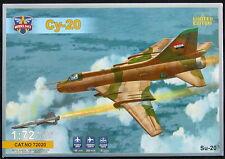 "Modelsvit Models 1/72 SUKHOI Su-20 ""FITTER-C"" Soviet Jet Fighter"