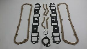 Victor Engine Intake Manifold & Valve Cover Gaskets for 1977-95 Ford 302 or 351W