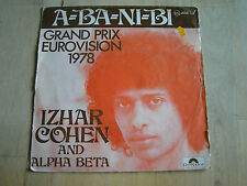 45 tours izhar cohen and alpha beta a-ba-ni-bi