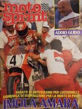 Motosprint 15 1983 tragedia morte di Guido Paci -  [SC.31]
