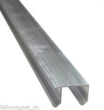 Doppel Laufschiene Aluminium 2,4 m lang Führungsschiene