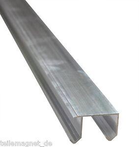 Doppel Laufschiene Aluminium 2,9 m lang Führungsschiene
