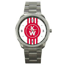 New KENWORTH TRUCK KW Logo High Quality Sport Metal Watch