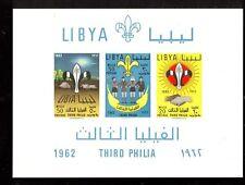 BOY SCOUT - LIBIAN BOY SCOUT LIBYA 1962 block B