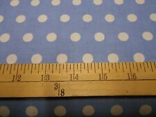 1 yard Little Dot Light Blue Fabric