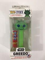 Funko Pop! PEZ Star Wars GREEDO Candy & Vinyl Dispenser Limited Edition