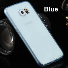 Clear Shockproof Silicone 360°  Full TPU Slim Case Cover for iPhone & Samsung