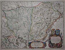 Utriusque Burgundiae - Burgund - Willem Janszoon Blaeu - 1635