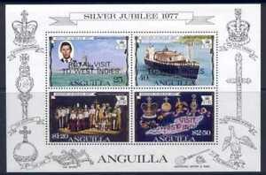 Anguilla 300a MNH Queen Elizabeth Silver Jubilee, Ship, Royal visit o/p
