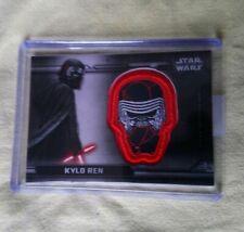 Starwars Rise of Skywalker Series 1 KYLO REN PATCH #PC-KRT Bonus Cineworld pack