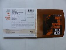 CD ALBUM BILLIE HOLIDAY Songs for distingué lovers 539056 2