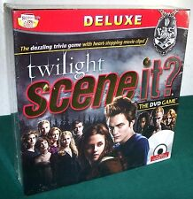 Deluxe Twilight Scene It? The DVD Game - Mint in Sealed Box!
