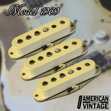 American Vintage Model 1969 Fender® Stratocaster® Replacement Pickup Set