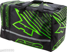 Axo Kit Bag Boot Helmet Green Enduro Motocross Gear Mtb Dh Trials Ossa Kx Kxf