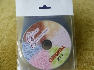 CRAFTERS COMPANION  ORIENTAL  PAPERS IDEAL FOR CARD MAKING