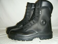 British Army Police Issue Yds Patrol Combat Public Order Leather BOOTS Size 7 41
