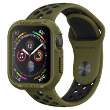 Apple Watch Series 6/5/4/SE Case (40mm, 44mm) Spigen® [Rugged Armor] Cover