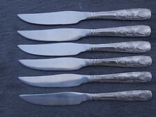BRAND NEW Steak Knives King's Pattern x 6 stainless steel