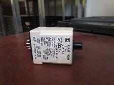 Square D Solid State Timing Relay 9050 JCK-13 Range: .6-60sec 24U DC/AC 50-400Hz