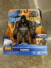 "? NEW Godzilla vs Kong KONG WITH BATTLE AXE Playmates Monsterverse 6"" Figure"