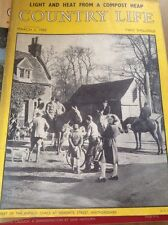 Country Life Magazine  3 March 1955 Miss Jane Fairey / Enfield Chase Herts