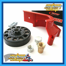 GO KART 9 TOOTH EXTENDED SHORT SHAFT ITALSPORT RED CLUTCH KT100S ENGINES NEW