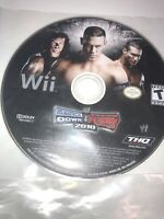 Lot Of 2 WWE SmackDown vs. Raw 2010 / Just Dance (Nintendo Wii, Disc Only