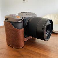 Camera Genuine Leather Case for Hasselblad X1D II 50C Handmade Retro Half Cover
