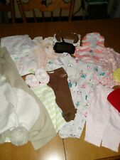 Newborn baby girl clothes 3 months lot and more!