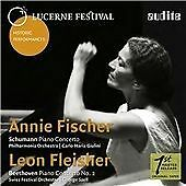 Schumann / Beethoven: Piano Concertos, Annie Fischer, Leon Fleisher, Sw CD | 402