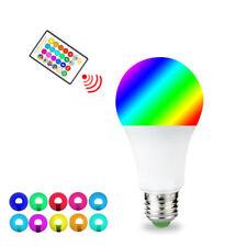 E27 5W RGB LED Lamp Light Bulb Magic Colors Changing whith IR Remote Control 3W