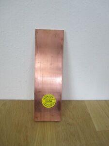 Kupferbarren 1 kg Cu 60x10x195 mm Fein 999,9 Hochrein Copper Bar