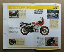 Mega Bike Motor Cycle / Scooters Specifications Fact File Single Cards - Various